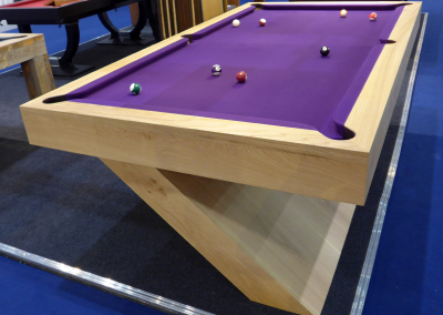 8ft-Oak-Cantilever-Bespoke-Pool-table