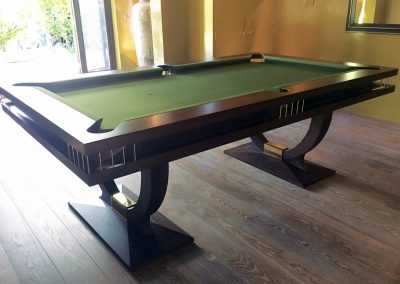 Dark Oak Continental-BR 8ft US Pool table
