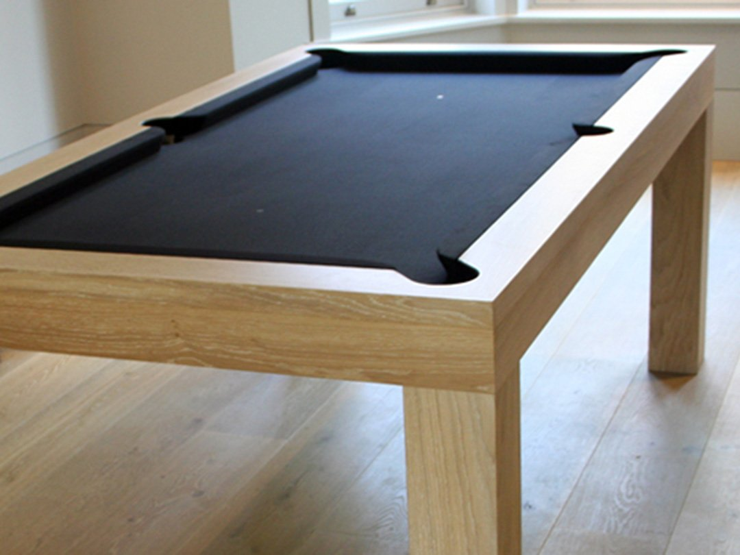 Simple, contemporary design, UK / US sizes Pool / Dining table.