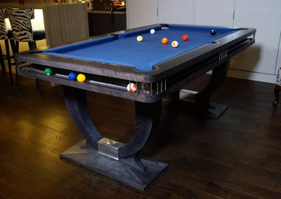 Grey Ash Continental BR Pool table