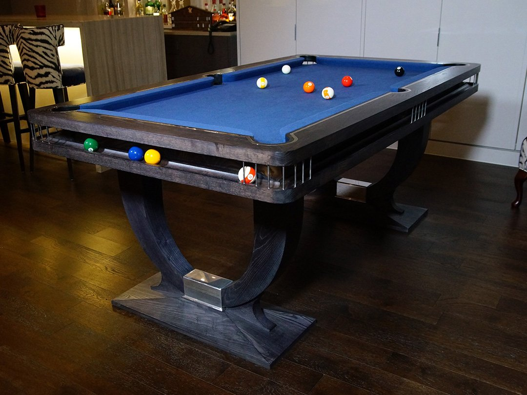 Grey Ash Continental Ball Runner Pool table