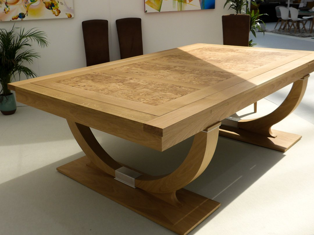 7ft Oak Continental Rollover Pool-dining table