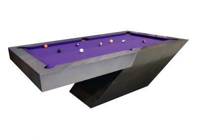 Bentley Shadow bi-metallic bespoke Pool table
