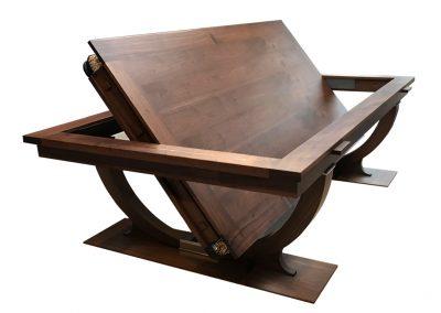 Continental Rollover Snooker-dining table - Walnut
