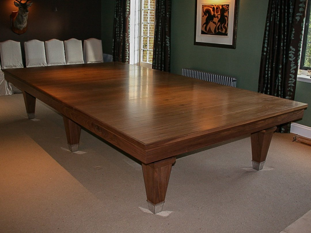 Cantilever Pool table - 8ft Oak