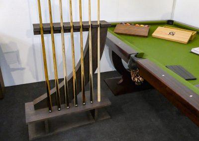 Gatsby Snooker or Pool Cue rack - Walnut