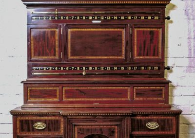 Joe Davis Cabinet closeup