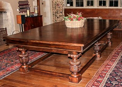Bentley-Refectory-WInd-up-Snooker-dining-table-Dark-Oak