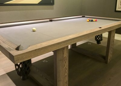 The Camargue bespoke billiard table