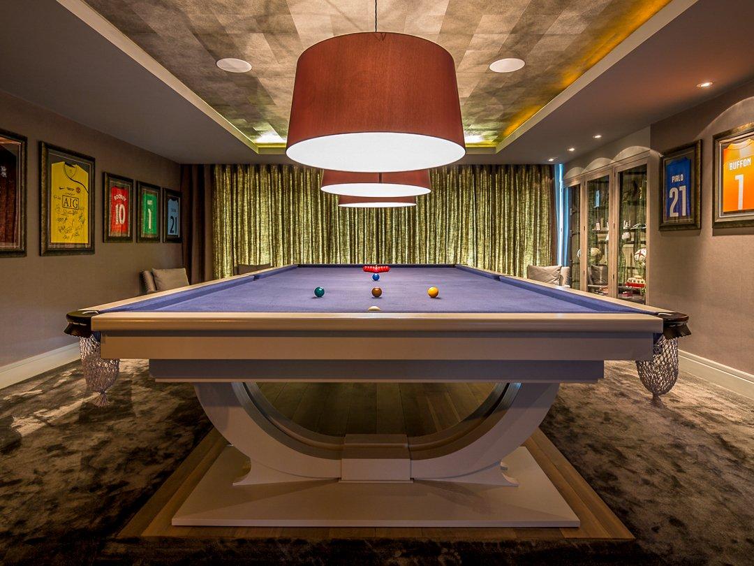 Farrow & Ball finish Soho full-size snooker table