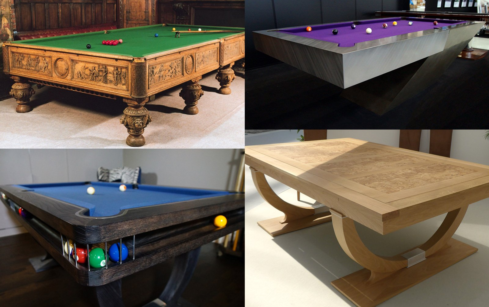 Bespoke Pool Snooker & Billiards tables