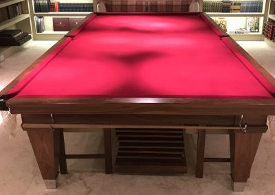 Walnut Lauren full-size Snooker-dining set
