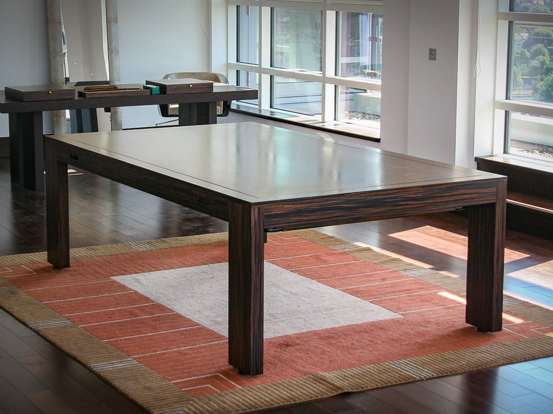 Elegant, Simple, Contemporary Design Rollover Pool / Dining / Conference table.