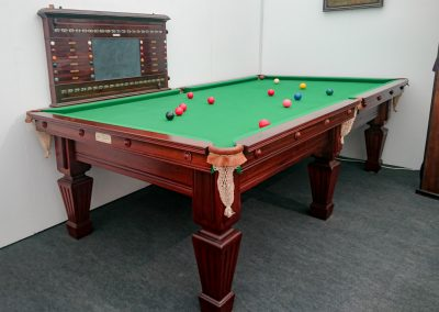 9ft Antique billiard table by Orme & Sons c.1910