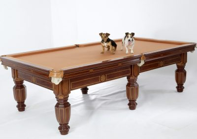 Tsar-Nicholas antique billiard table