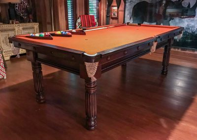 The Gillow Pool table