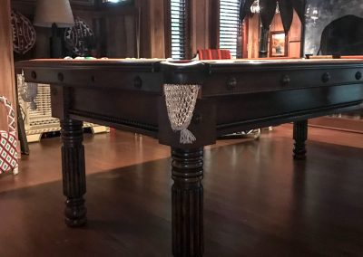 Gillow-repro-8ft-Pool-table