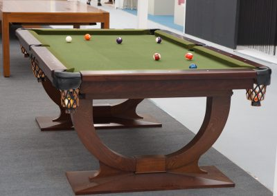 Continental US Pool table - Chocolate Mahogany