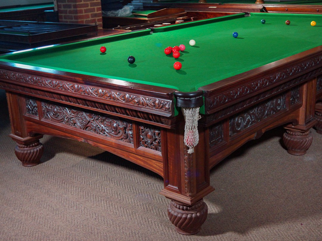 Orme & Sons Arts & Crafts Oak billiard table