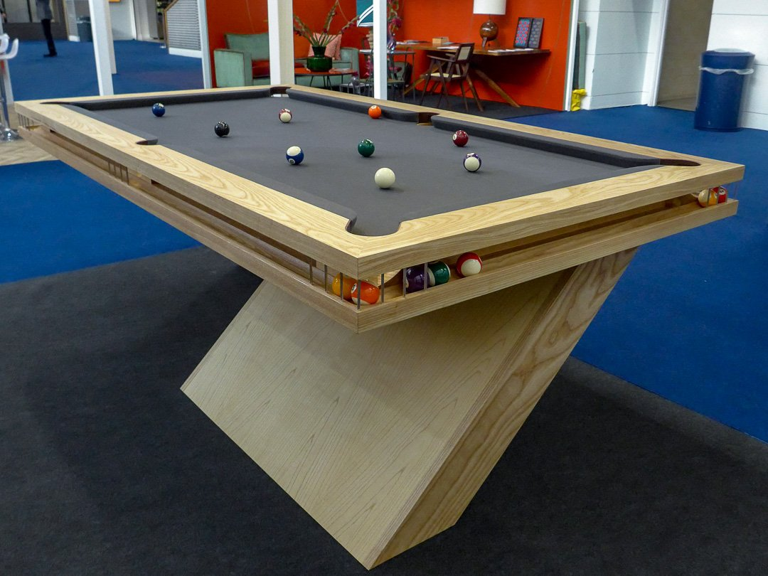 Cantilever Ball Runner bespoke Pool table design