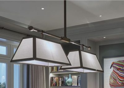 Bronze Continental Pool table light