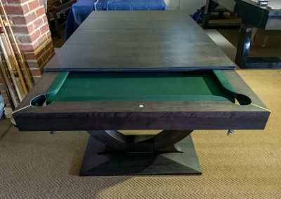 Continental Wind-up Pool / Snooker dining table