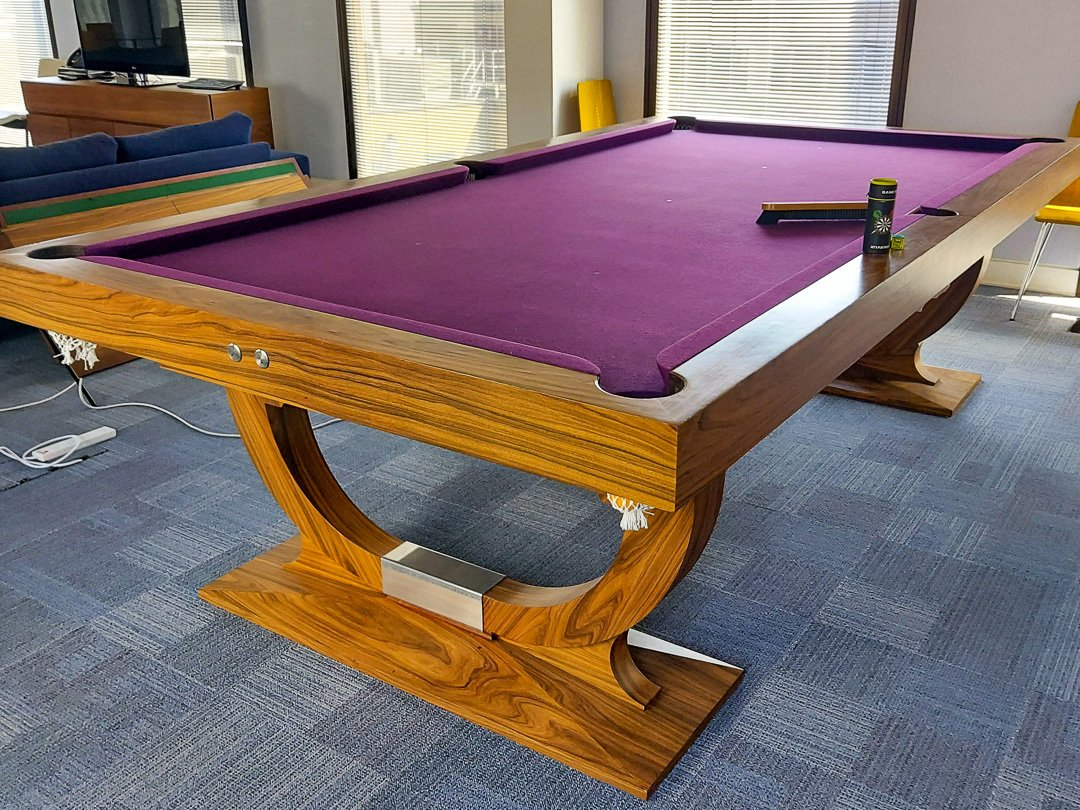 9ft Rosewood Continental Air-lift Snooker Dining table - In Stock