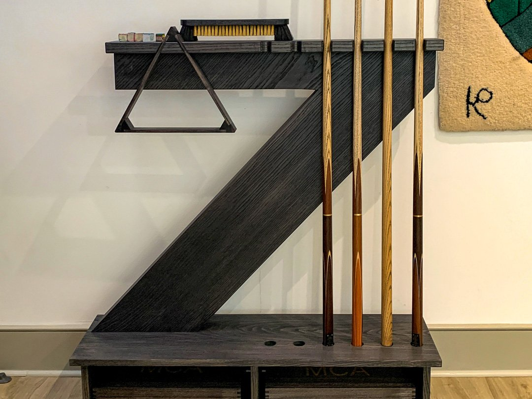 Cantilever Snooker & Pool Cue-rack Grey Ash